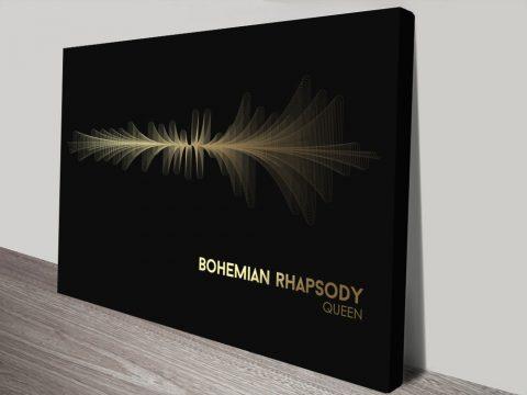 Queen Bohemian Rhapsody Canvas Artwork