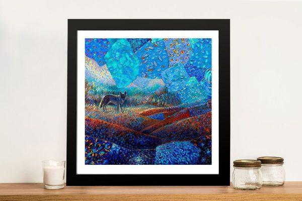 T Pequeño Coyote Dazzling Canvas Prints Online