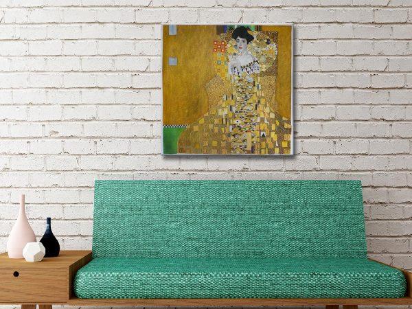 Adele Bloch Bauer Cheap Classic Wall Art Prints