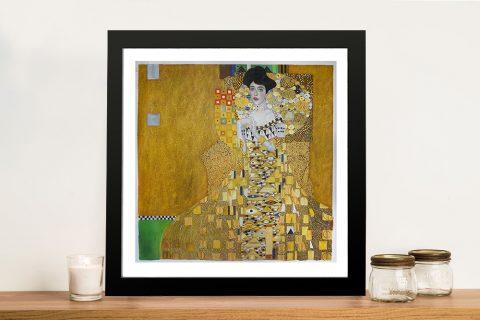 Adele Bloch Bauer by Klimt Framed Wall Art