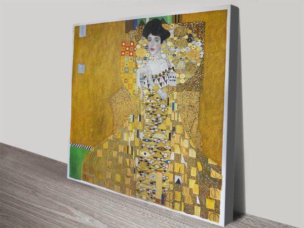 Buy Adele Bloch Bauer Canvas Artwork Australia Online