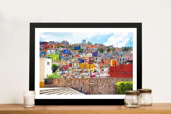 Framed Print of Architecture Guanajuato