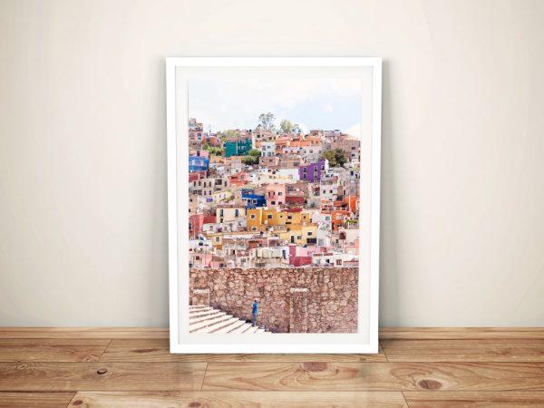 Architecture Guanajuato ll Framed Art
