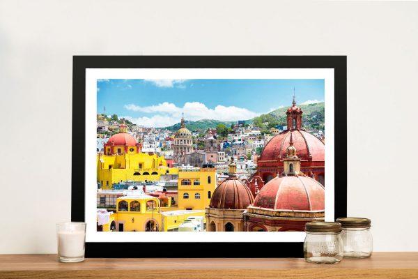 Buy Guanajuato Architecture Wall Art