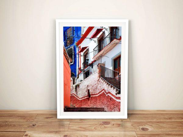 Guanajuato Facade Print by Philippe Hugonnard