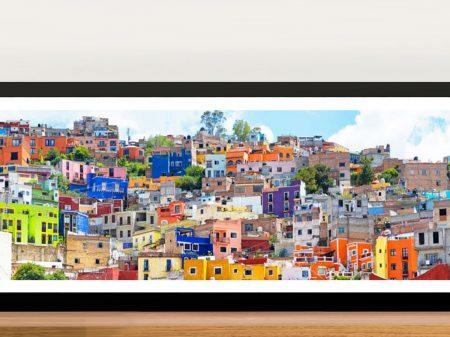 Buy Colorful City Guanajuato Wall Art