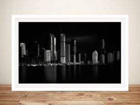 Brisbane City Of Light Cityscape Wall Art