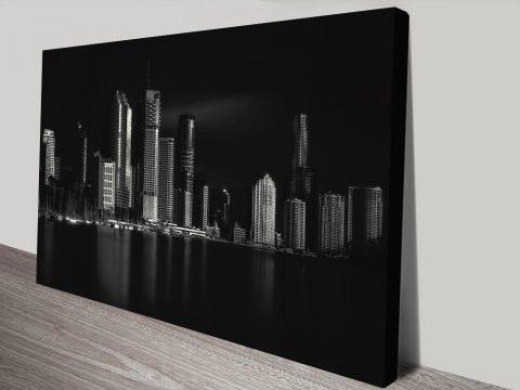 Brisbane City Of Light World City Canvas Prints