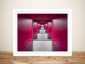 Exit Architectural Framed Artwork