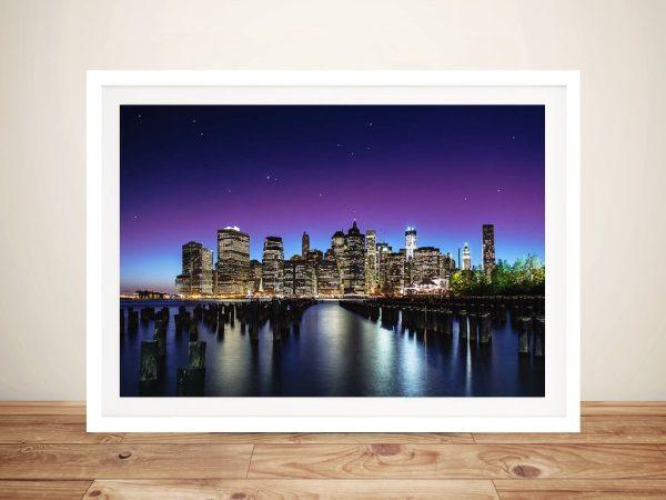 New York Skyline Artwork