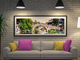 Buy Shanghai Water Town Wall Art Online