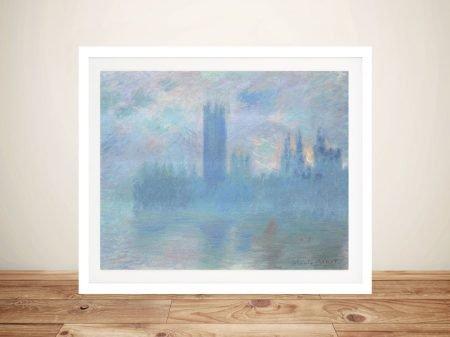 Houses of Parliament Monet Canvas Art