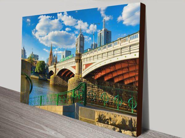 Buy Princes Bridge Noel Buttler Cheap Canvas Prints