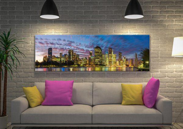 Sunset in Motion Noel Buttler Art for Sale