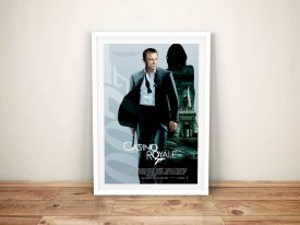 Buy A Casino Royale Framed Poster Print