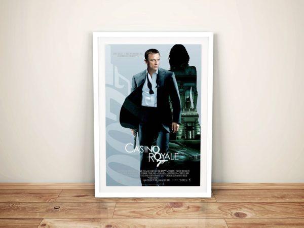 Buy A Casino Royale Framed Poster Print