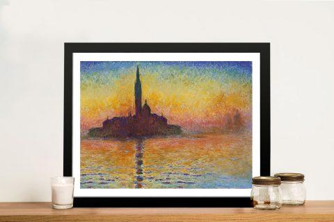 San Giorgio Maggiore At Dusk Classic Art