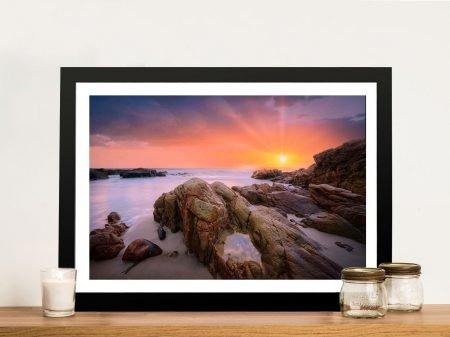 Coolum Beach Coastal Canvas Art