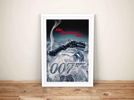 Die Another Day Movie Art Print