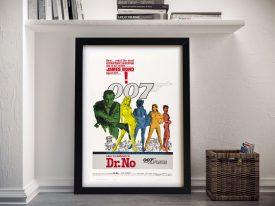 Dr No James Bond Wall Art