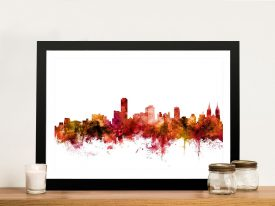 Wall Art Print of Adelaide's Skyline