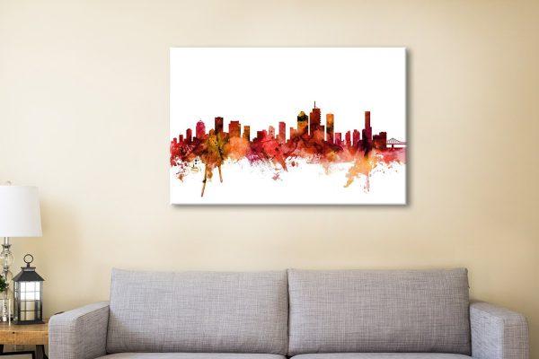 Brisbane Skyline Great Gift Ideas AU