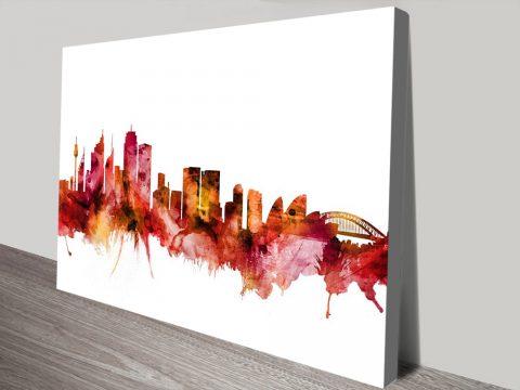 Cheap Michael Tompsett Skyline Prints Online