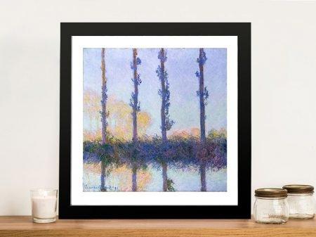 Buy Monet Four Trees Framed Wall Art