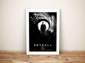 Canvas Movie Art Print For The Film Skyfall