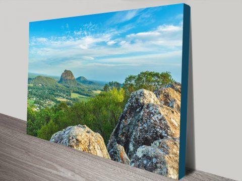 Glass House Mountains Discount Australian Wall Art