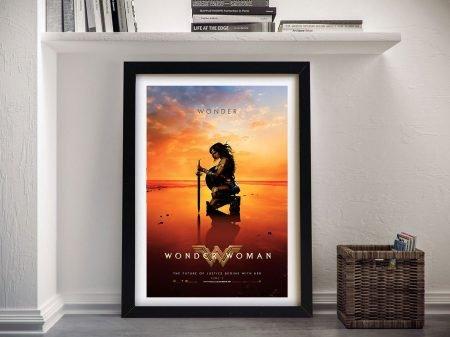Buy Wonder Woman Framed Movie Poster