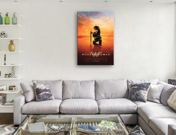 Buy Wonder Woman Framed Movie Poster Wall Art Print