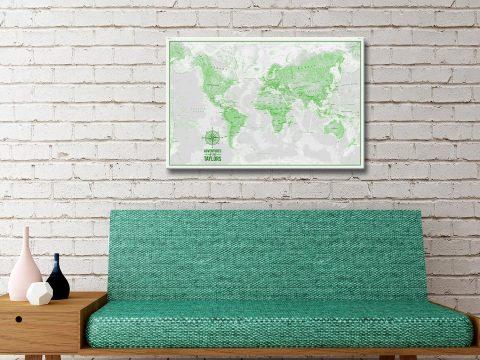 Buy Custom Pushpin MapsArtwork Australia