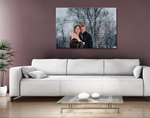 Personalised Photo Canvas Artwork Australia
