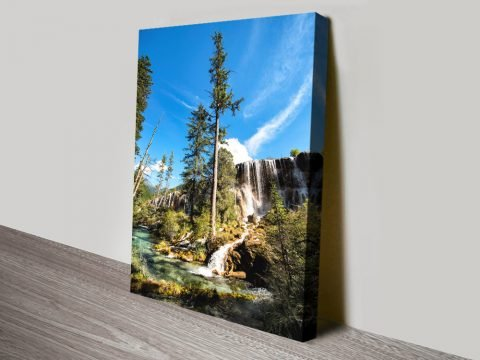 Buy Waterfalls in the Jiuzhaigou Cheap Prints