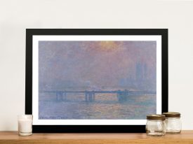 Charing Cross by Monet Classic Canvas Prints