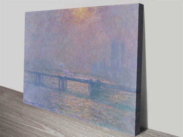 Buy Monet's Charing Cross Canvas Artwork