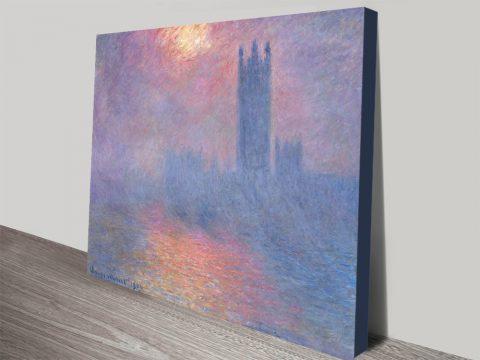 Buy Effect of Sunlight in Fog Classic Artwork AU