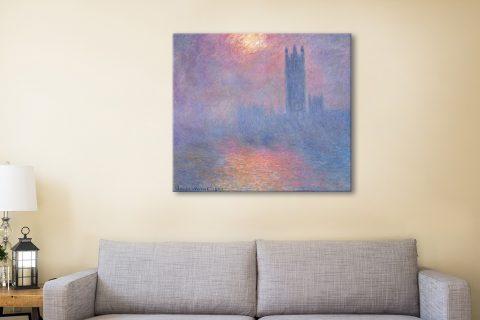 Effect of Sunlight in Fog Cheap Classic Art AU