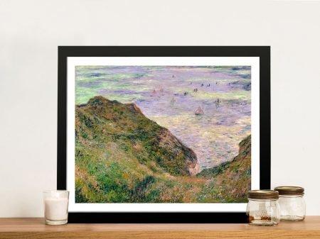 Low Tide at Varengeville Classic Art Canvas Prints