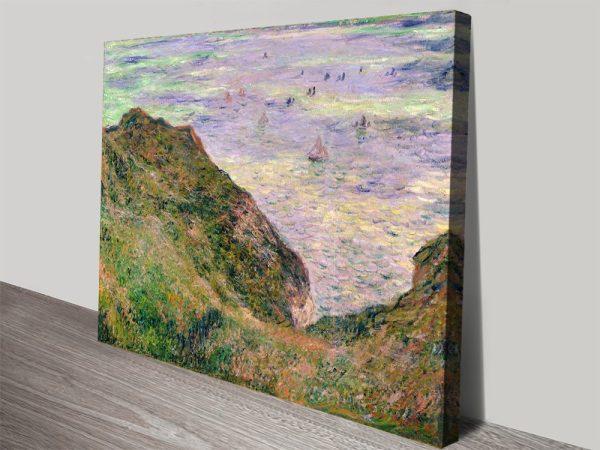 Low Tide at Varengeville Classic Canvas Art Prints