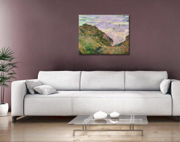 Low Tide at Varengeville Monet Artwork Gift Ideas