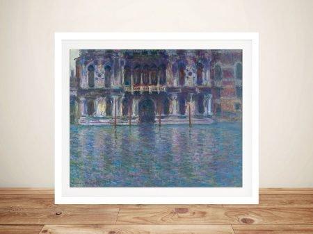 The Palazzo Contarini Framed Classic Artwork