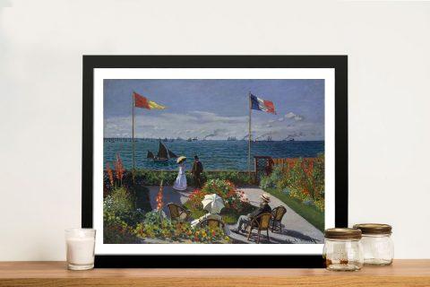 Buy Jardin à Sainte Adresse Classic Print