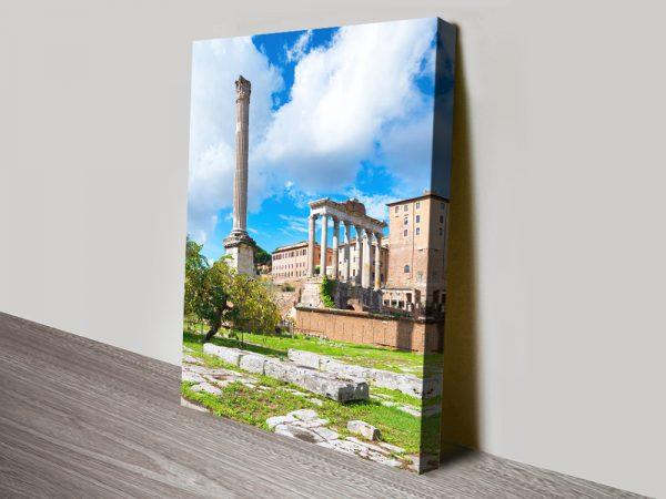 Buy Antique Ruins Rome Cheap Canvas Artwork