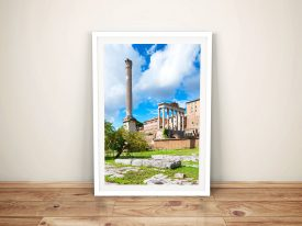 Buy Antique Ruins Rome Framed Artwork