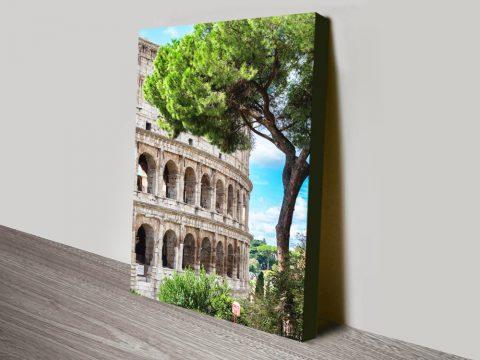 The Colosseum Cheap Canvas Wall Art AU