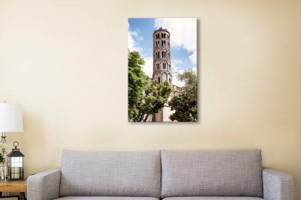 Buy Tour Fenestrelle to Uzès Canvas Art AU