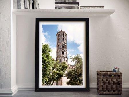 Tour Fenestrelle to Uzès Canvas Prints Online