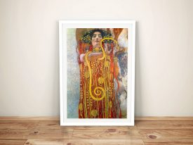 Buy Hygeia Classic Wall Art by Gustav Klimt
